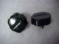 2 per Pack Lot of 2 Packs Workman KN6P Plastic OEM 6mm CB Radio Bracket Knobs