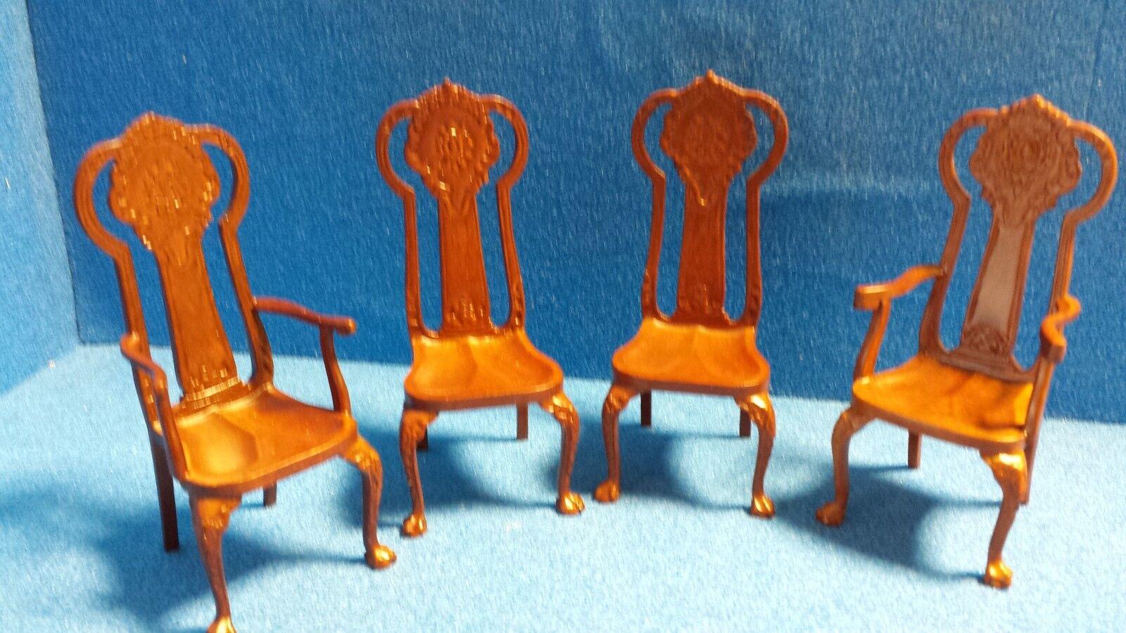 1/12 1/12 1/12 scale maison de poupées meubles de qualité table & 4 chaises set dhd06020set 5d3da1
