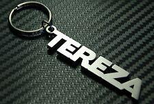 TEREZA Personalised Name Keyring Keychain Key Fob Bespoke Stainless Steel Gift
