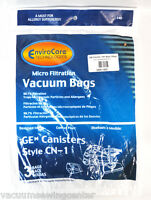 Ge Canister Vacuum Cleaner Cn1 Bags 3 Bags 61980