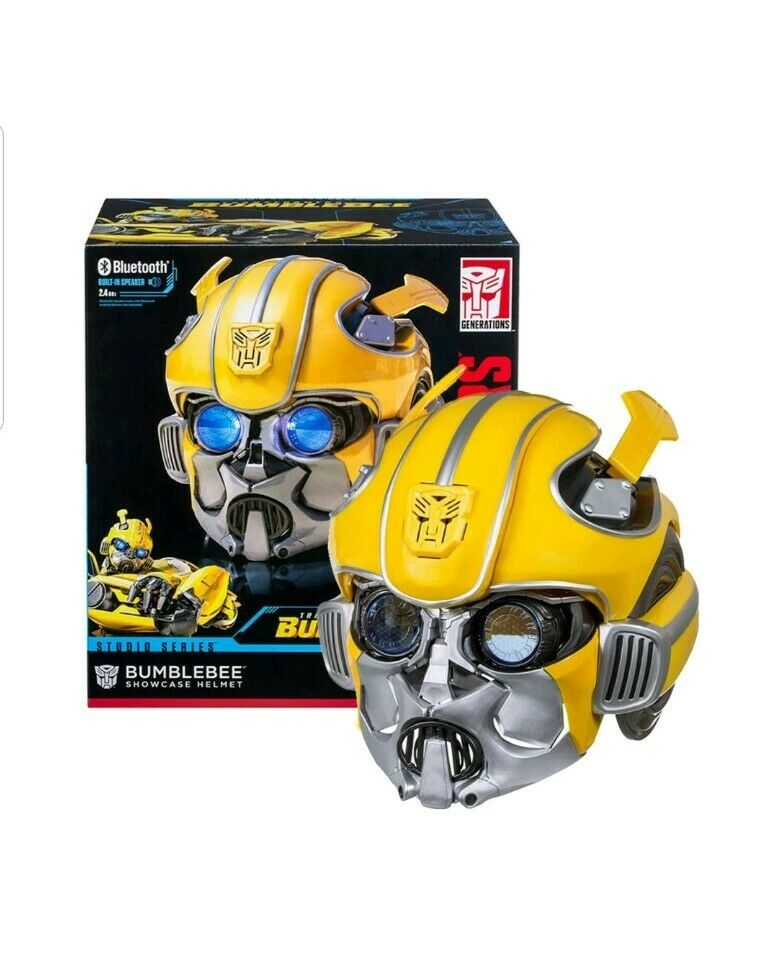 Transformers Studio Series Bumblebee Helmet blueetooth Speaker Cosplay Mask Gift