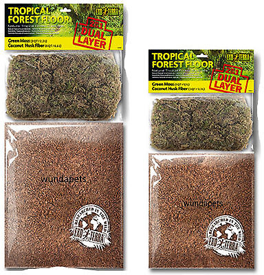 4,4/L Exo Terra Sustrato de Doble Capa Tropical Forest Floor/