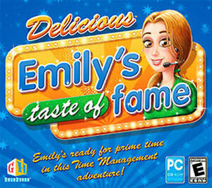 Delicious-Emily-039-s-Taste-of-Fame-PC-Game-Win-XP-Vista-7-8-10-Brand-New-Sealed