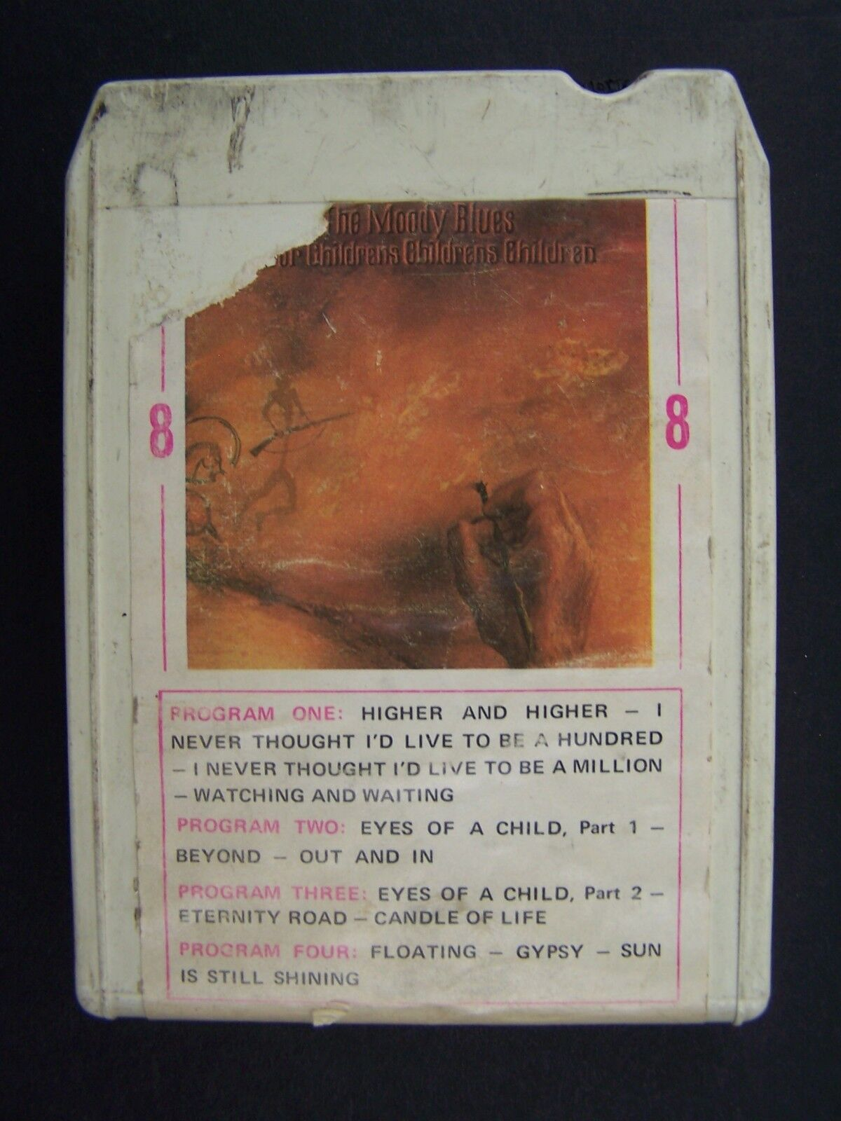 Moody Blues To Our Childrens Childrens Children 8 Track