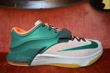 30c27d1396eb item 4 WORN ONCE NIKE KD VII 7 EASY MONEY 653996-330 MYSTIC GREEN BROWN GUM  Size 13 -WORN ONCE NIKE KD VII 7 EASY MONEY 653996-330 MYSTIC GREEN BROWN  GUM ...