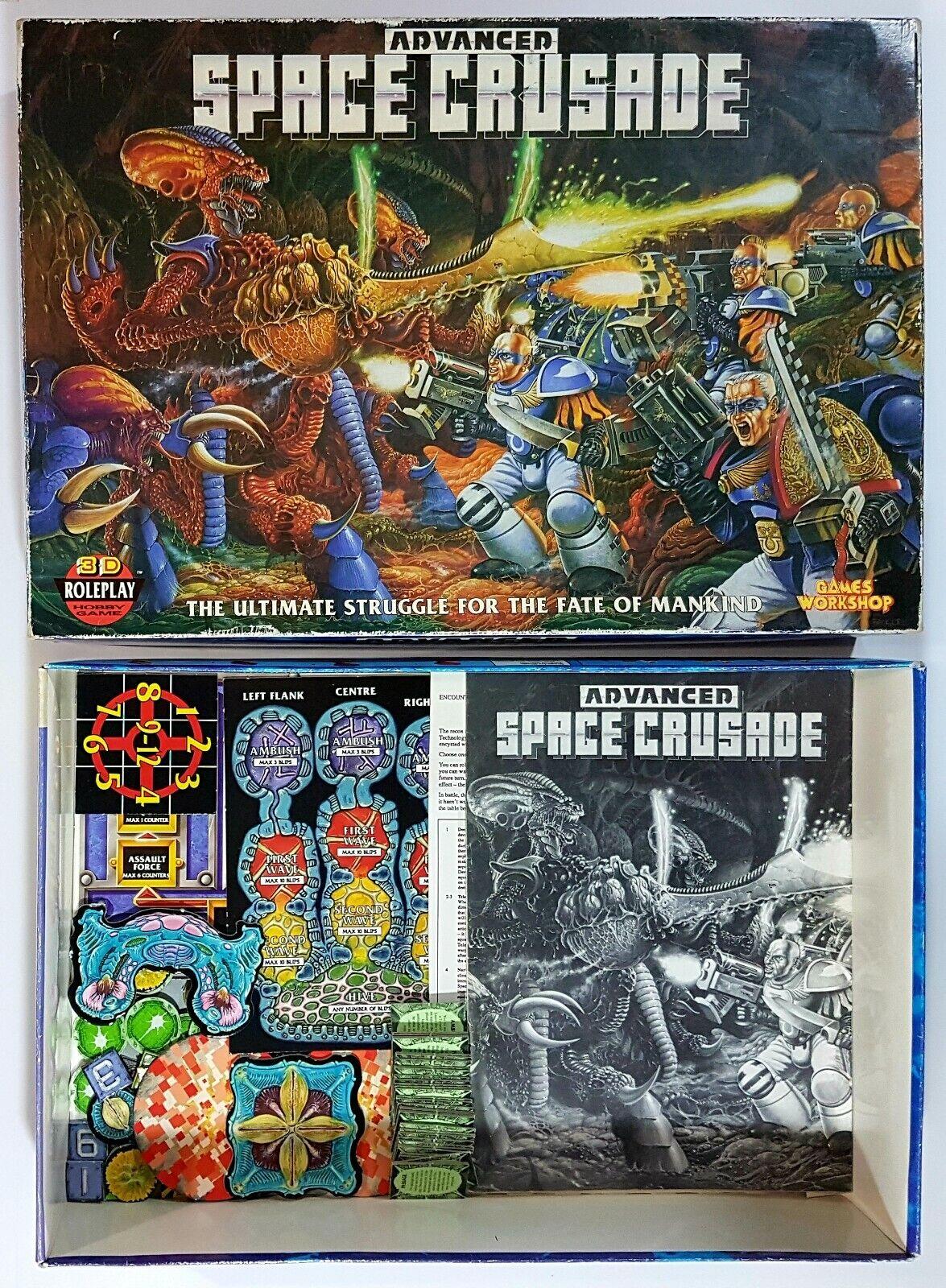 giocos lavoronegozio 1990  spazio Crusade parts OVP Warhammer 40k Tyranid spazio Marine del  ampia selezione