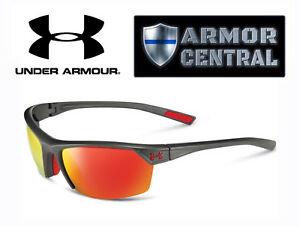 3946d9db0455 NEW Under Armour UA Zone 2.0 Sunglasses - Satin Carbon Frame ...