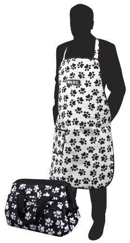 Wahl Paw Print Grooming Bag and Apron Set