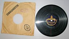 """ODEONETTE 6"""",15cm,5 7/8inch,78 RPM,1926-30,Schellack,mit Label-Loch-Cover, gut."""