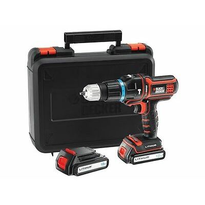 TALADRO MULTIEVO BLACK+DECKER MT188KB CABEZAL INTERCAMBIABLE
