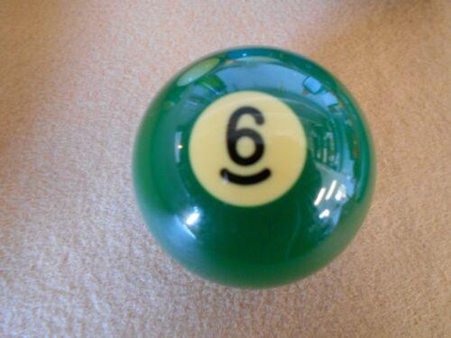 "New 2 1//8/"" Aramith #6 Ball  Individual Replacement Billiard Pool Table Ball"
