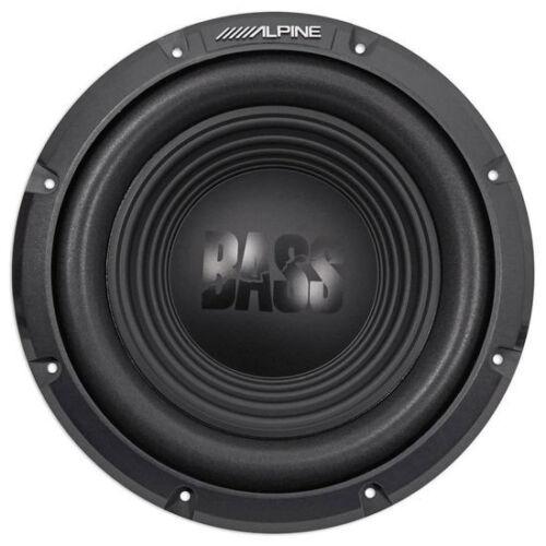 "ALPINE 750 Watt 10/"" inch BassLine Series Single 4 Ohm Car Sub SubwooferW10S4"
