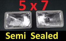 2x 5x7 Semi Sealed Lights Toyota Hilux RN105R RZN149R RZN147R LN167R SR5 KZN165R
