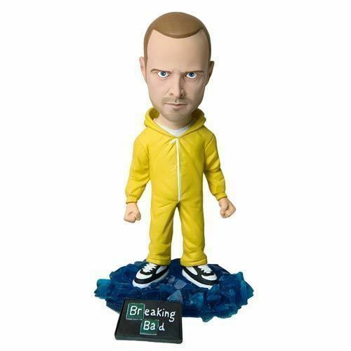 "Breaking Bad Jesse Pinkman Bobblehead Bobble AMC TV Show Figurine Mezco 6/"""