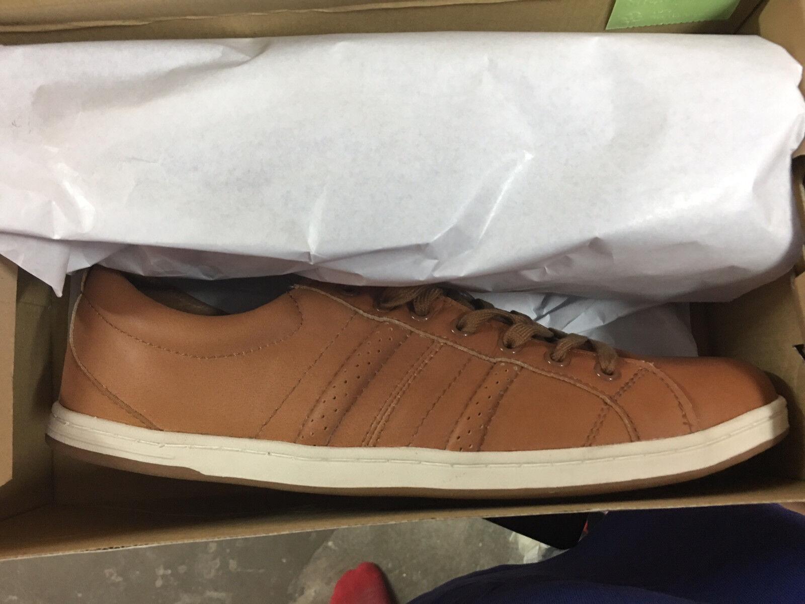 Farley Sneaker Schuhe Montreal Gr:42 CK 3075-1H Neu New Cognac Leder