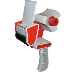 """NEW Heavy Duty Metal Sellotape Parcel Packaging Tape Gun Dispenser 2/""""//50mm"""