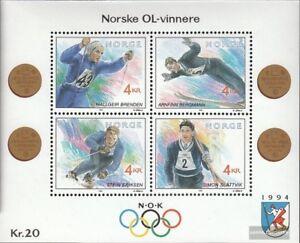 Norwegen-Block17-kompl-Ausg-postfrisch-1992-Winterolympiade