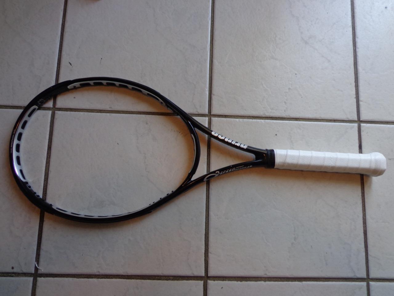 Prince O3 Speedport Negro longbody 27.5 pulgadas 100 cabeza 4 4 4 3 8 Grip Tenis Raqueta 786095