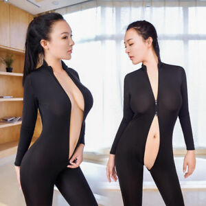 jumpsuit Sexy zipper