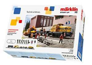 Marklin-H0-29184-Coffret-de-Depart-Chantier