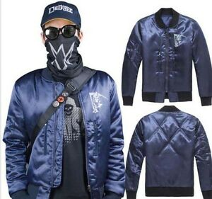 Jacket Mask Cap Game Watch Dogs 2 Marcus Holloway S Cosplay Costume
