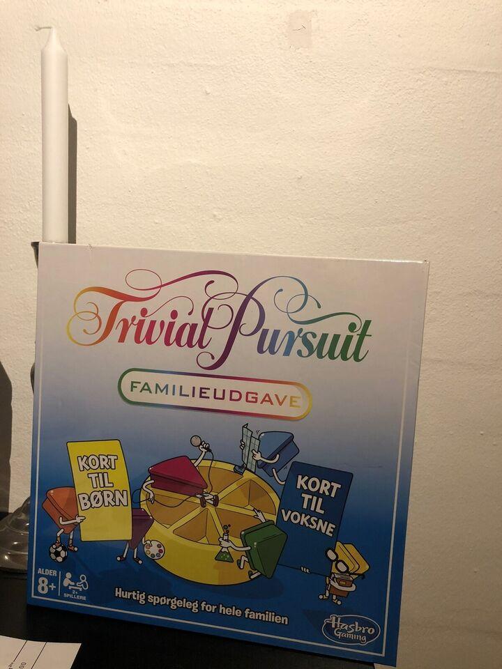Trivial Pursuit familieudgave, Familiespil, brætspil