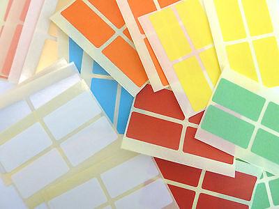 adesivi per codice cromatico/-/10/colori colori misti 50/x 20/mm Etichette adesive colorate rettangolari