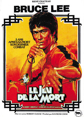 1978 Game Of Death Bruce Lee cult movie poster print 2