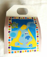 Blue's Clues 8-candy Boxes Party Supplies 6 1/4x 5 3/4 X 3 1/4