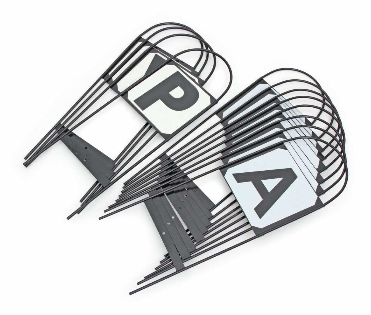 Shires Kleidage Marker Metal Hoops . Set of 4, 8 or 12 letters. Stick in ground.