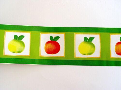 3 Bordüren 3x Bordüre selbstklebend 10,6cmx10m Apfel F2732082