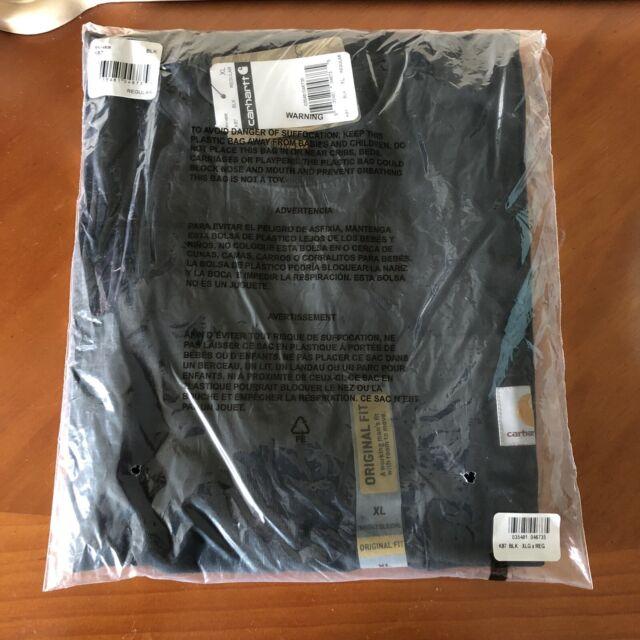 Mens Carhartt Pocket Tshirt XLARGE Black New In Package