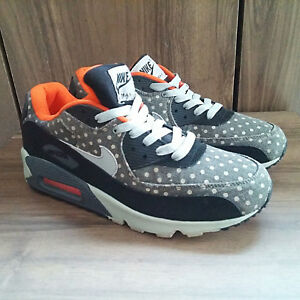 size 40 f7480 acc42 Image is loading Used-NIKE-AIR-MAX-POLKA-DOT-Leather-Premium-