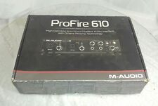M-audio ProFire 610 Digital recording interface IN BOX