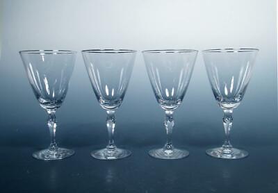 Fostoria Lenox Water Goblet