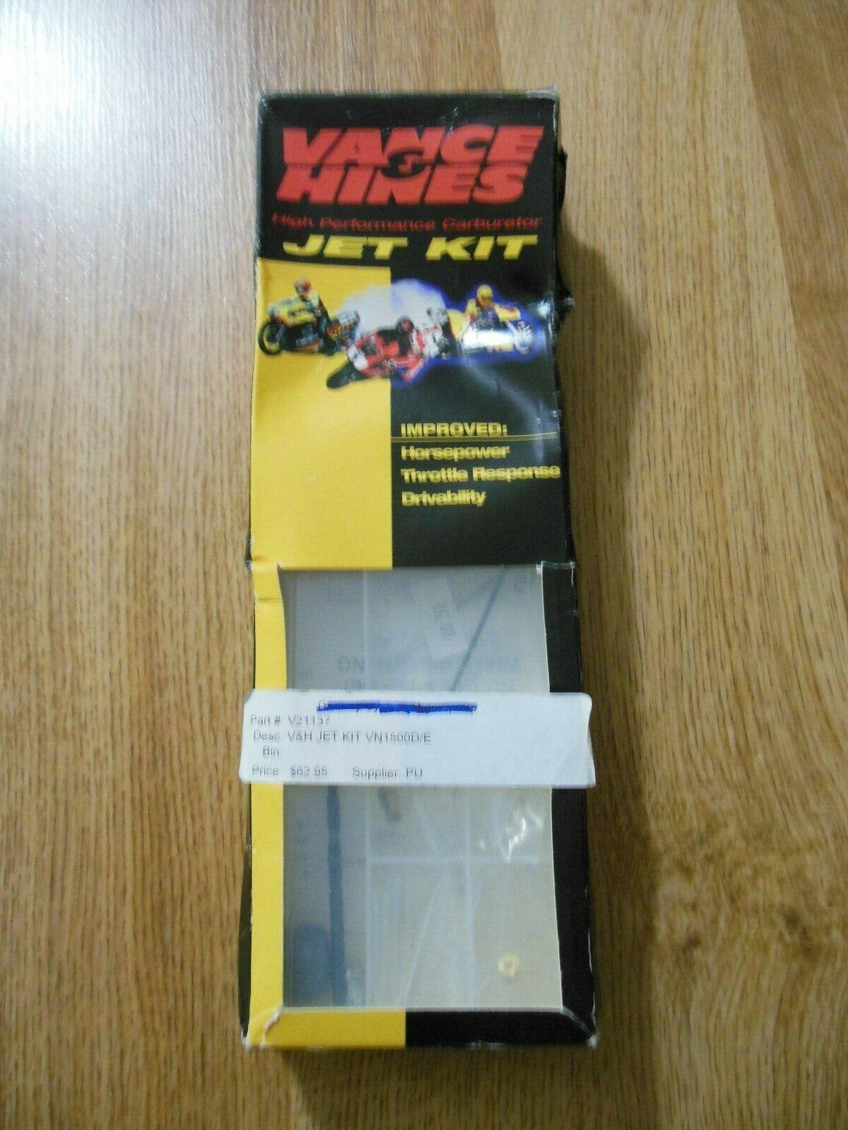 Vance /& Hines Carburetor Jet Kit for 1996-2005 Kawasaki VN1500D//E Vulcan Classic