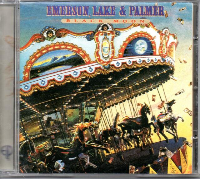 CD Emerson, Lake & Palmer – Black Moon EUR reissue with bonus tracks