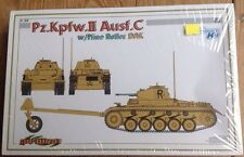 Cyber Hobby 1/35th Scale  Pz.Kpfw.II Ausf. C w/Mine Roller DAK Kit No. 6752 New