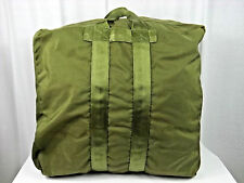 US Military Issue OD Green Nylon Kit Bag Flyers Aviator Duffel Duffle Parachute