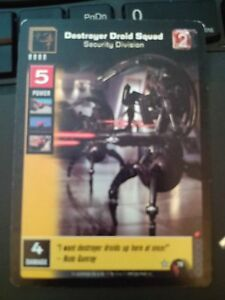 Star Wars Young Jedi TCG Duel of the Fates Starfighter Droid DFS-1138 Non-Mint