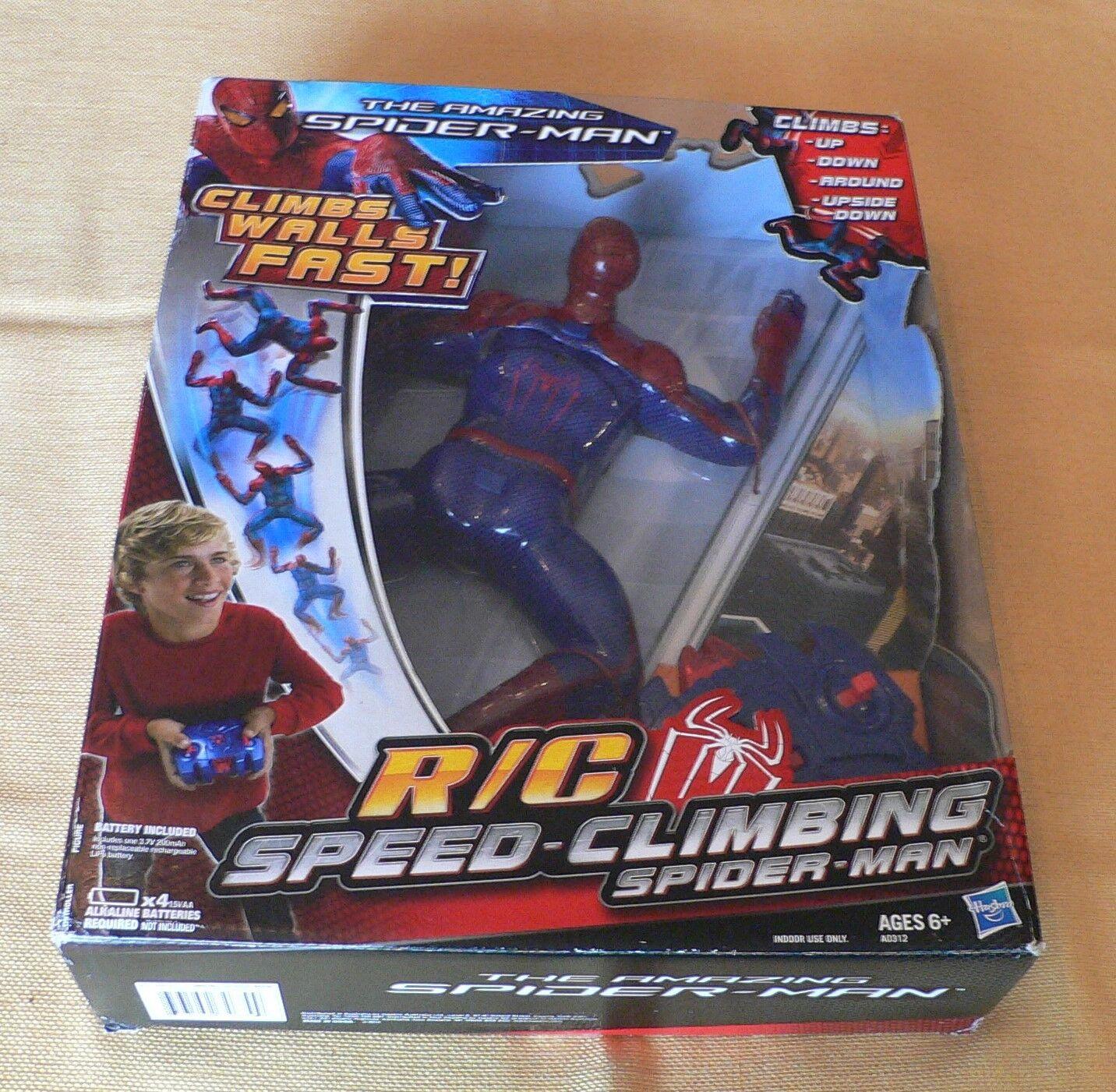 Neue 2012 hasbro r   c speed - klettern, spider - man spider - man