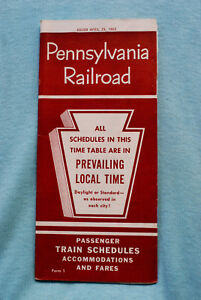 Pennsylvania-Railroad-Time-Table-April-29-1962