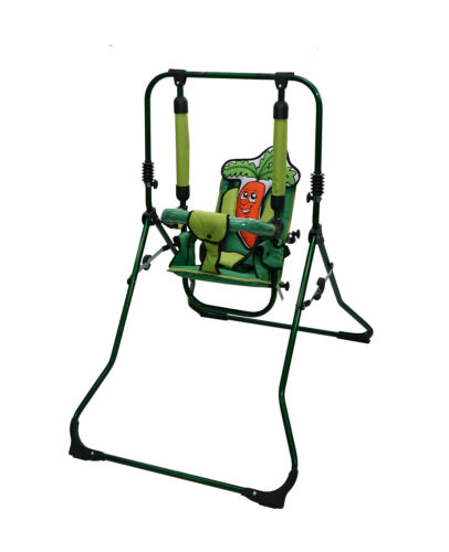 Standing colourful baby swing feeding chair baby rocker 4in1