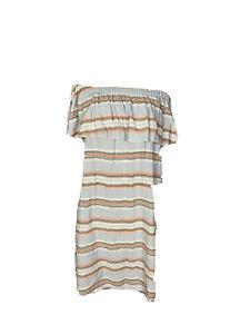 Little Lies Womens Size 12 Off the Shoulder A -Line Casual Dress