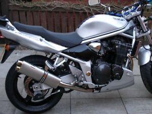 Suzuki Gsf 600 Bandit 95 06 Titanium Race Road Legal Motorbike Exhaust Pipe Ebay