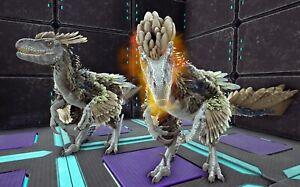 Ark Survival Evolved Xbox One PvE Deino Top Boss Stat Deinonychus Fert Eggs x2
