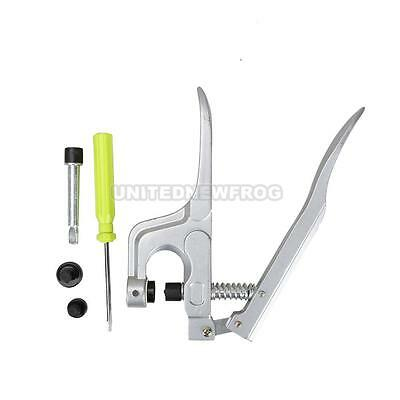UNF# T3 T5 T8 Button Fastener Snap Plier Set for Plastic Resin Snap Cloth Diaper