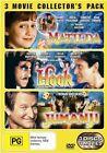 Matilda  / Hook  / Jumanji (DVD, 2007, 3-Disc Set)