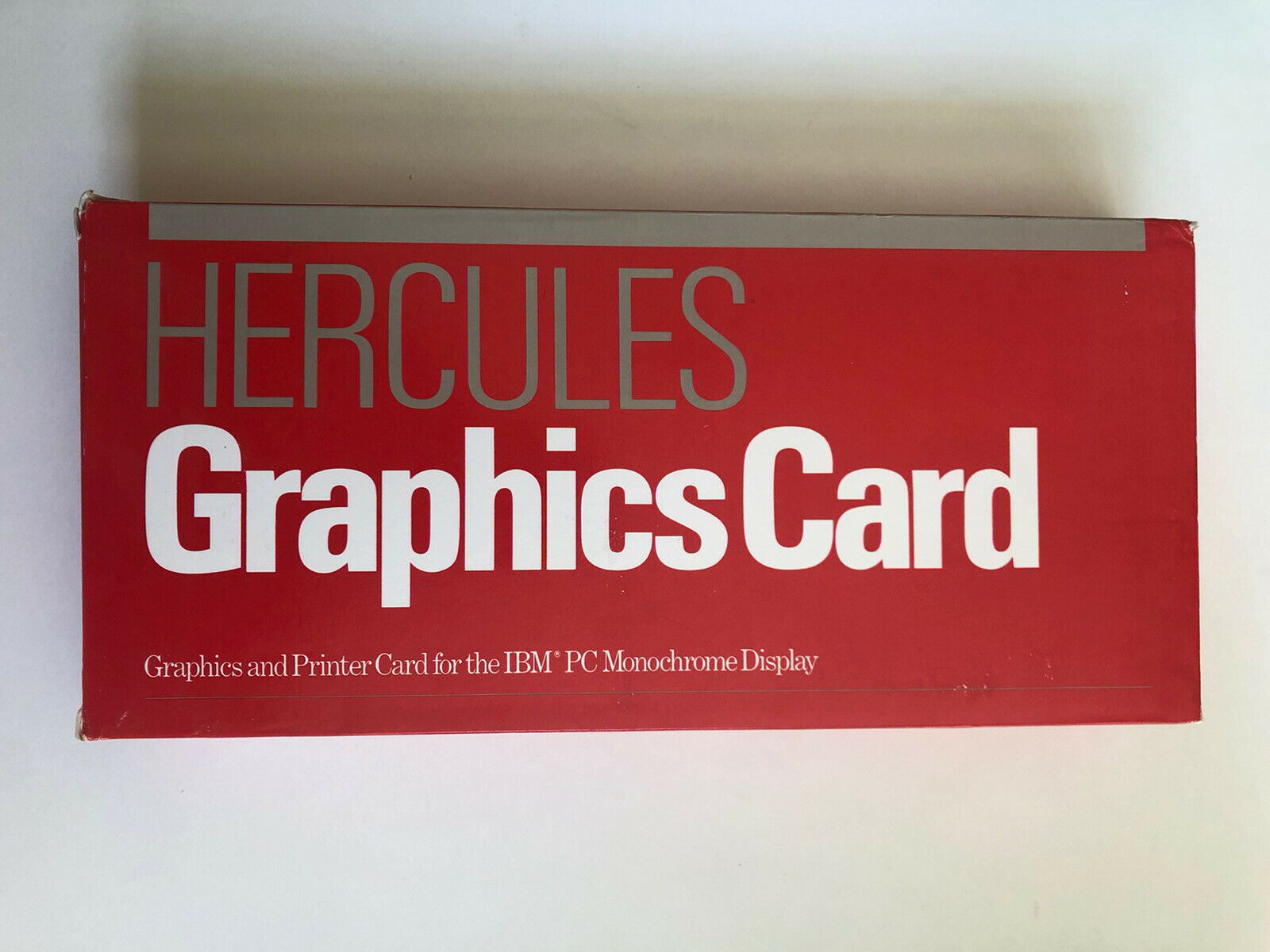 Image 1 - New-Old-Stock-Vintage-IBM-Hercules-Graphics-Full-Sized-ISA-1501985
