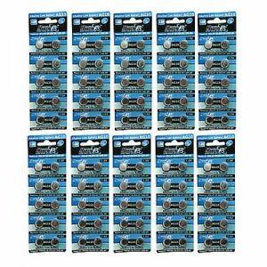 100 X Ag10 V389 D389 Gp389 18 1 5v Alkaline Button Cell